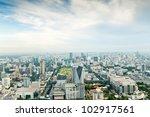 Bangkok Metropolis  Aerial View ...