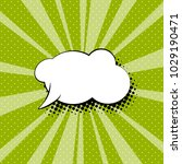 empty speech bubble for a quote ... | Shutterstock .eps vector #1029190471