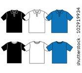 vector t shirt. men's t shirt... | Shutterstock .eps vector #102919934