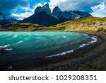 torres del paine national park  ... | Shutterstock . vector #1029208351