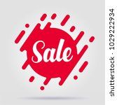 special offer sale exclusive... | Shutterstock .eps vector #1029222934