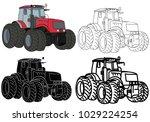vector  on a white background... | Shutterstock .eps vector #1029224254