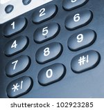 Phone Closeup. Modern Phone ...