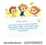 design with kids   Shutterstock .eps vector #1029258505