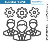 business people icon.... | Shutterstock .eps vector #1029269179