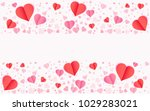 valentines day vector background | Shutterstock .eps vector #1029283021