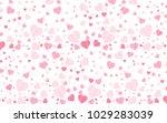 valentines day vector background | Shutterstock .eps vector #1029283039