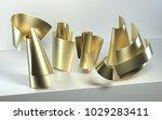 3d rendering of abstract scene... | Shutterstock . vector #1029283411