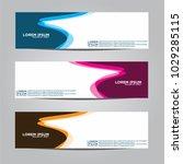 banner background.modern vector ... | Shutterstock .eps vector #1029285115