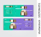 gift voucher hydrating facial... | Shutterstock .eps vector #1029286351