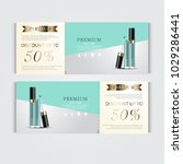 gift voucher hydrating facial... | Shutterstock .eps vector #1029286441