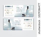 gift voucher hydrating facial... | Shutterstock .eps vector #1029286477