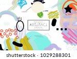 abstract universal art web... | Shutterstock .eps vector #1029288301