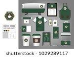 corporate identity template set ... | Shutterstock .eps vector #1029289117