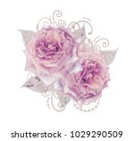 decorative decoration  paisley... | Shutterstock . vector #1029290509