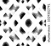 grunge halftone black and white ... | Shutterstock .eps vector #1029302791
