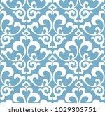 floral pattern. wallpaper... | Shutterstock .eps vector #1029303751