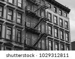 side view of a building | Shutterstock . vector #1029312811