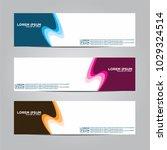 banner background.modern vector ... | Shutterstock .eps vector #1029324514