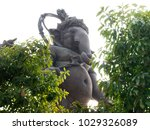 big ganesha in thailand. | Shutterstock . vector #1029326089