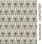art deco seamless pattern in... | Shutterstock .eps vector #1029327505