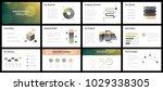 business presentation templates.... | Shutterstock .eps vector #1029338305