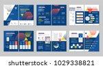 brochure creative design.... | Shutterstock .eps vector #1029338821