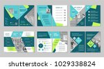 brochure creative design.... | Shutterstock .eps vector #1029338824
