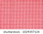 Red Firebrick Gingham Pattern...