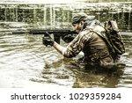 private military contractor pmc ...   Shutterstock . vector #1029359284