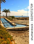 Small photo of Beach with access for disabled people in southern Spain, Santa Pola, Alicante