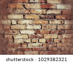 old brick wall texture for... | Shutterstock . vector #1029382321