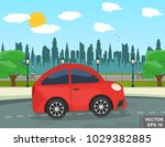 landscape. recreation. journey. ... | Shutterstock .eps vector #1029382885