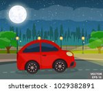 landscape. recreation. journey. ... | Shutterstock .eps vector #1029382891