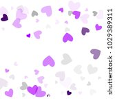 love background with hearts.... | Shutterstock .eps vector #1029389311