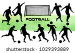 vector illustration. football... | Shutterstock .eps vector #1029393889