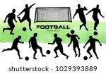 vector illustration. football... | Shutterstock .eps vector #1029393889
