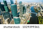 aerial panoramic view of moscow ... | Shutterstock . vector #1029399361