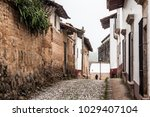 mexican town  san sebasti n del ... | Shutterstock . vector #1029407104