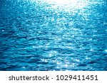 blue rippled water as abstract...   Shutterstock . vector #1029411451