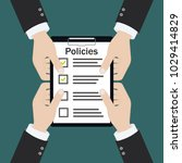 policies board company policy... | Shutterstock .eps vector #1029414829