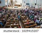 krakow  poland   may 28  2016 ... | Shutterstock . vector #1029415207