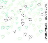 background with hand drawn... | Shutterstock .eps vector #1029419641