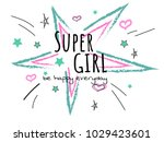 cool slogan typography  t shirt ... | Shutterstock .eps vector #1029423601