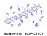 "flat design typography concept ""... | Shutterstock .eps vector #1029425605"