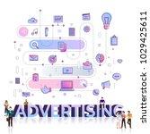 "flat design typography concept ""... | Shutterstock .eps vector #1029425611"
