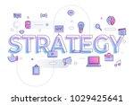 "flat design typography concept ""... | Shutterstock .eps vector #1029425641"