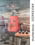 prada shop at emquatier ...   Shutterstock . vector #1029431569
