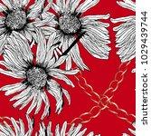 Floral Pattern Poppy  Hand...