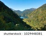 amazing nature landscape view...   Shutterstock . vector #1029448381